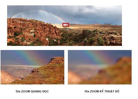 Phóng to máy ảnh kỹ thuật số của bạn liên quan đến việc xem xét kỹ hơn các đối tượng xa xôi. Zoom quang học trở nên gần gũi và cá nhân bằng cách sử dụng một điều chỉnh ống kính thật sự và zoom kỹ thuật số điều chỉnh hình ảnh trong chính máy ảnh (con số này cho thấy sự khác biệt trong hình ảnh bạn nhận được):
